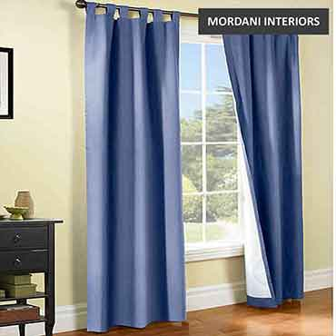 Indigo Cotton Curtain