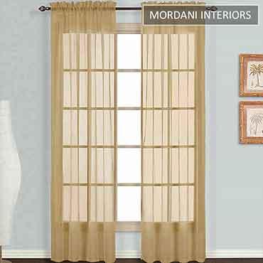 Light Bronze Sheer Curtain