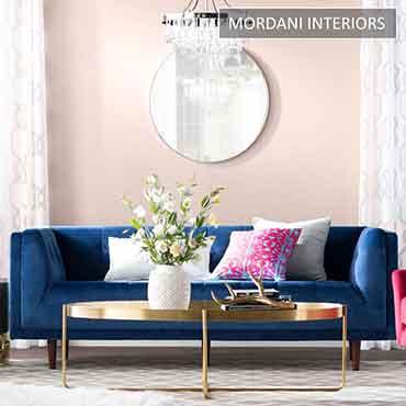 Malmo Dark Blue Designer Sofa