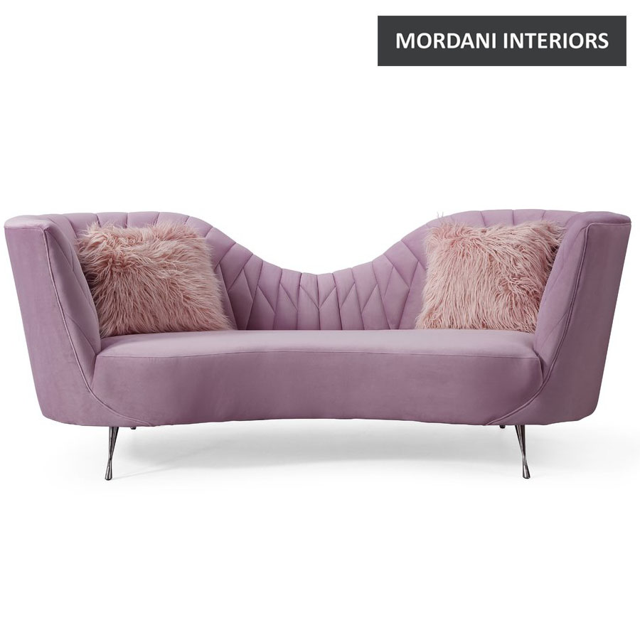 Mossbo Pink Style Sofa
