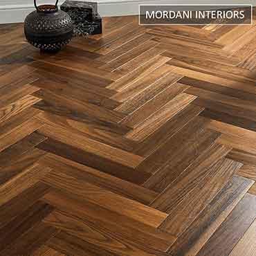 Noce Grande Herringbone Engineered Wooden Flooring