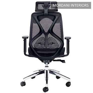 Black Octopus High Back Ergonomic Office Chair
