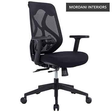 Black Octopus Mid Back Ergonomic Office Chair