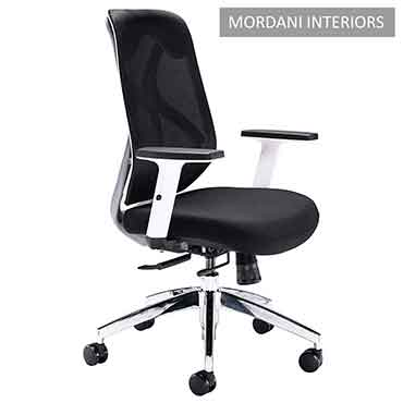 White Octopus Mid Back Ergonomic Office Chair