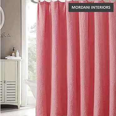 Pink Cotton Curtain