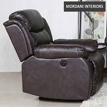 Rosson Brown Single Seater Recliner Sofa