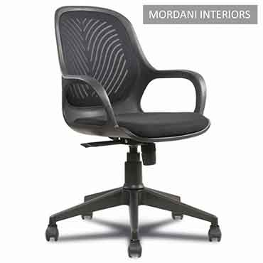 Sapphire Black Office Chair