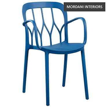 Tollop Blue Cafe Chair